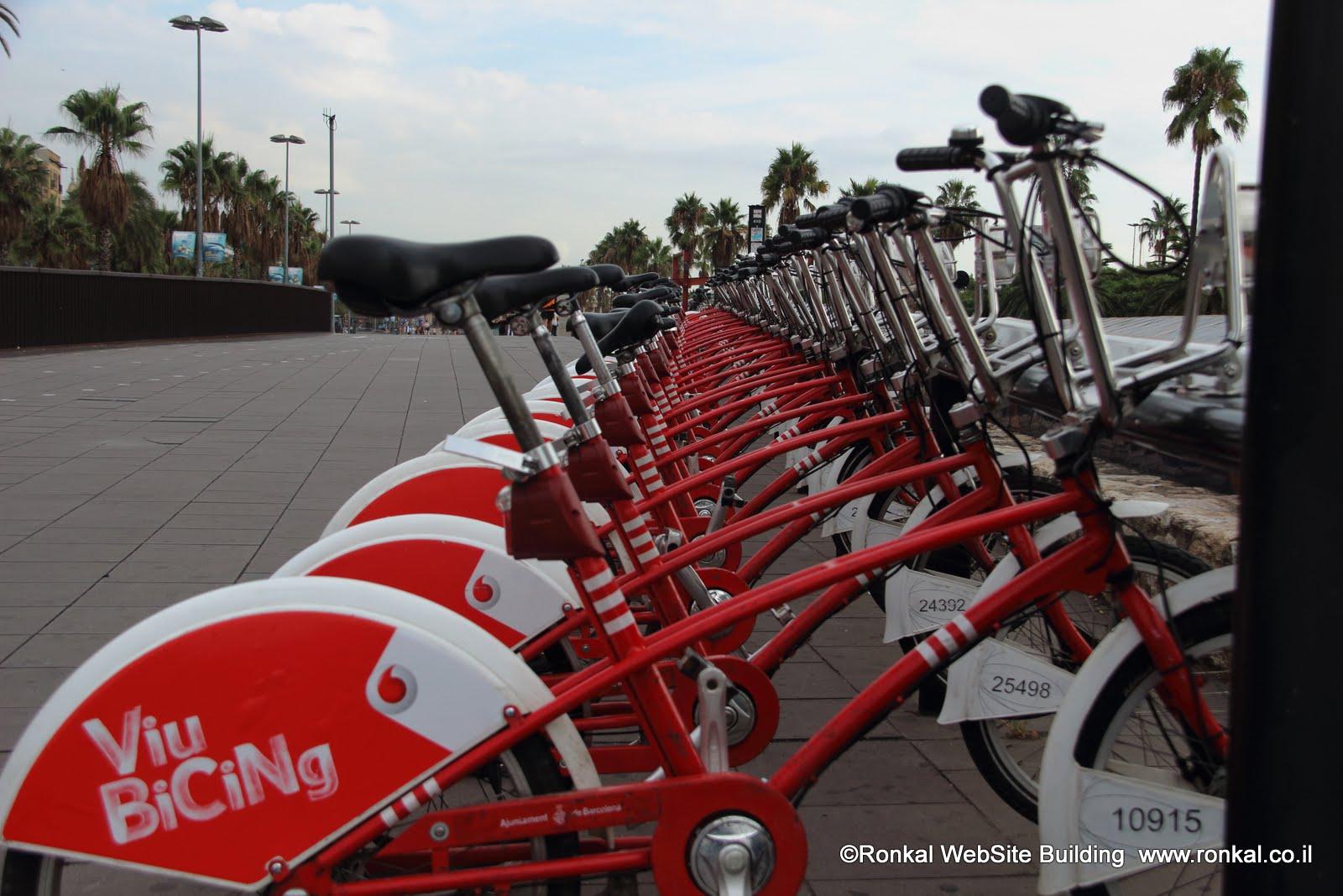 אופניים בברצלונה