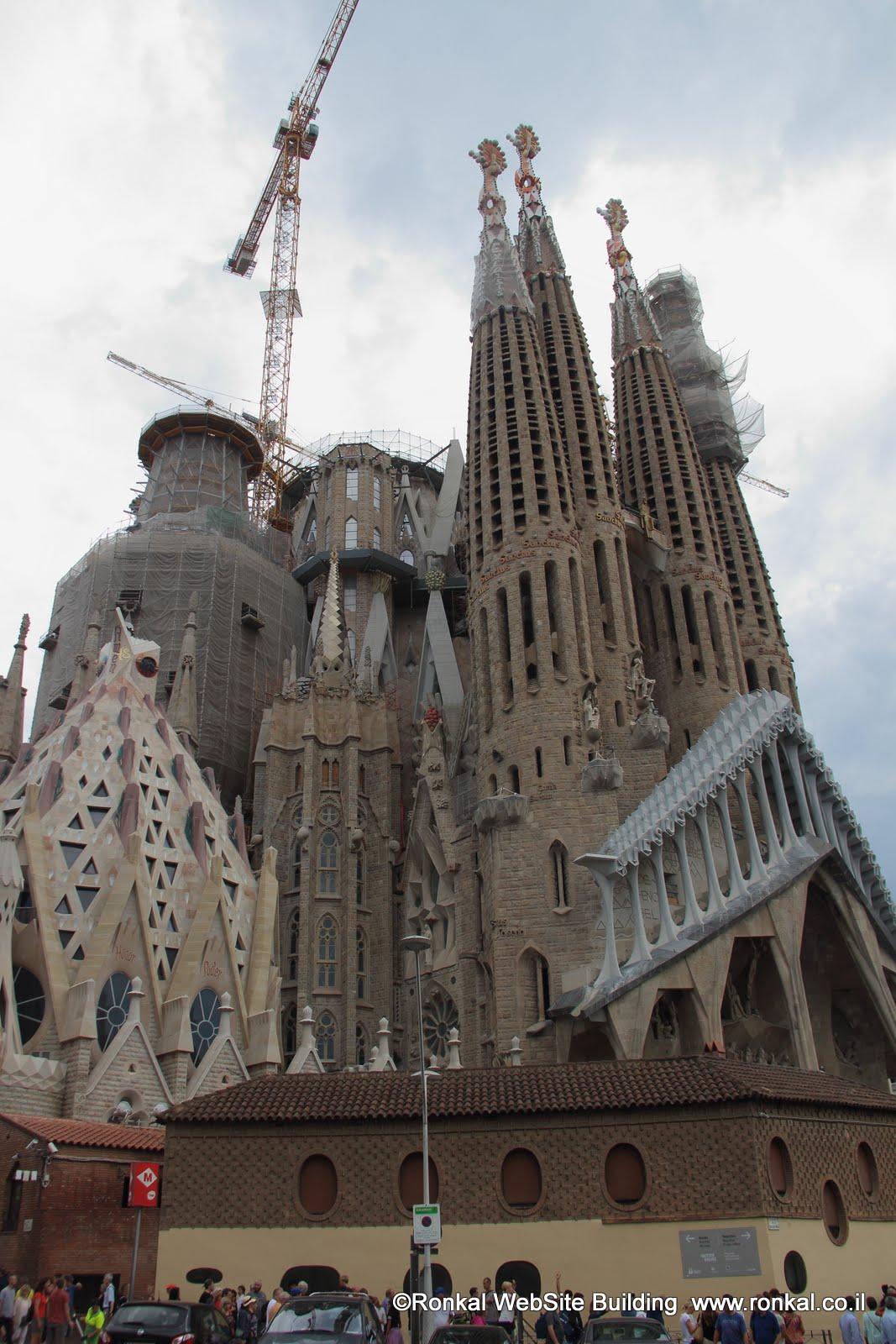 הקתדרלה  של גאודי Sagrada Familla