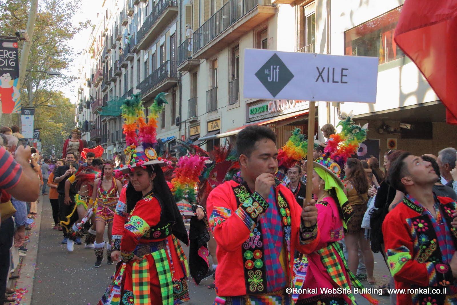 פסטיבלים וחגיגות תהלוכות ותחפושות בברצלונה