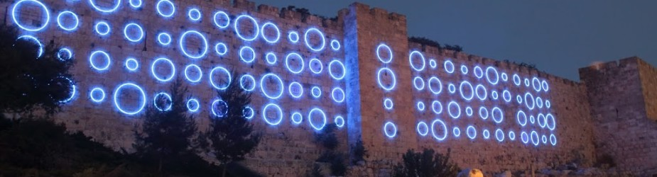 פסטיבל האור בעיר העתיקה ירושלים
