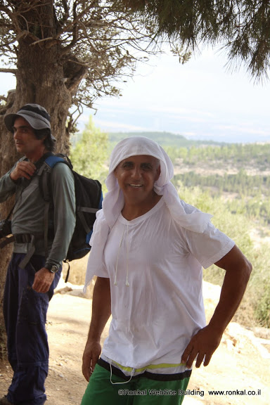 טיול שביל ישראל ממסילת ציון על כביש בית שמש מתחנת הדלק לסטף