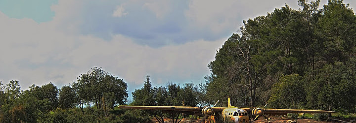 מטוס נורד ביער המגינים ובית הקשתות