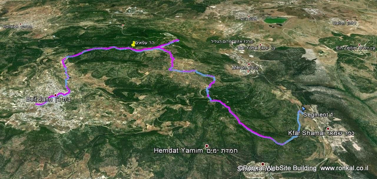 טיול בית גאן למירון